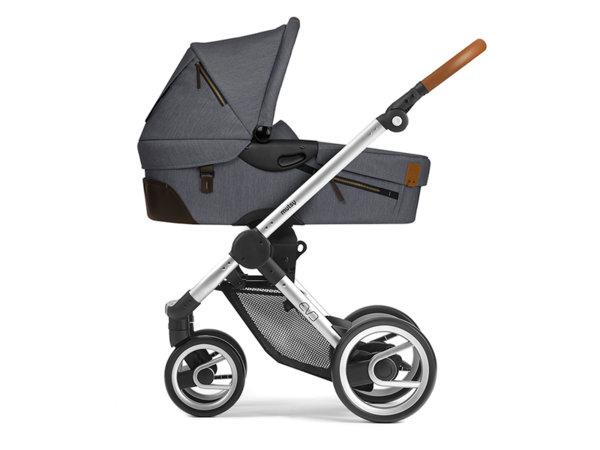 Mutsy Кош за новородено за бебешка количка Evo Industrial Lava Grey 2018